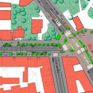 Progetto comunale di riqualificazione di via Rovereto